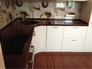 Столешница ls подоконник-столешница вместо балконного блока