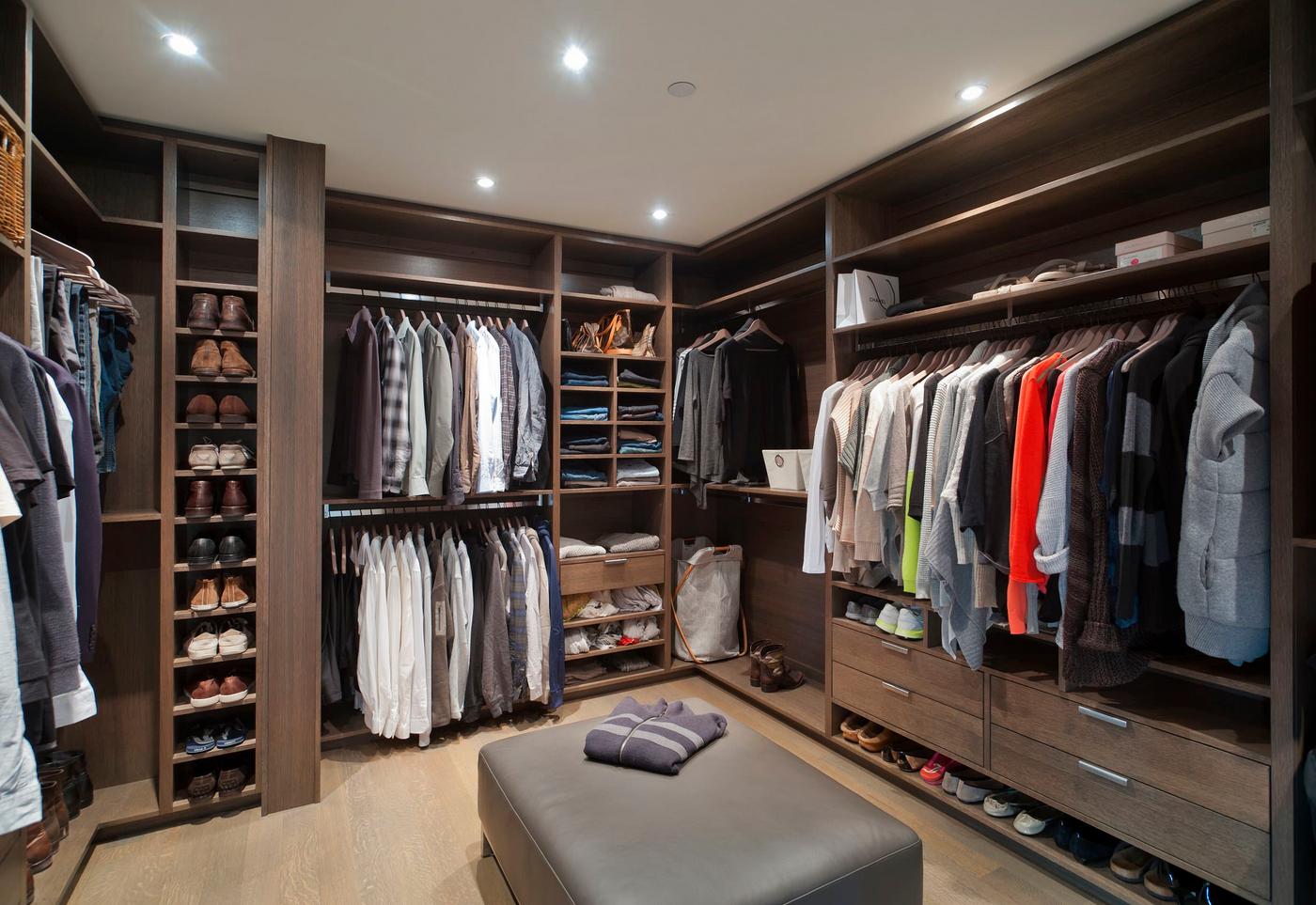 фото и цены на гардеробные комнаты