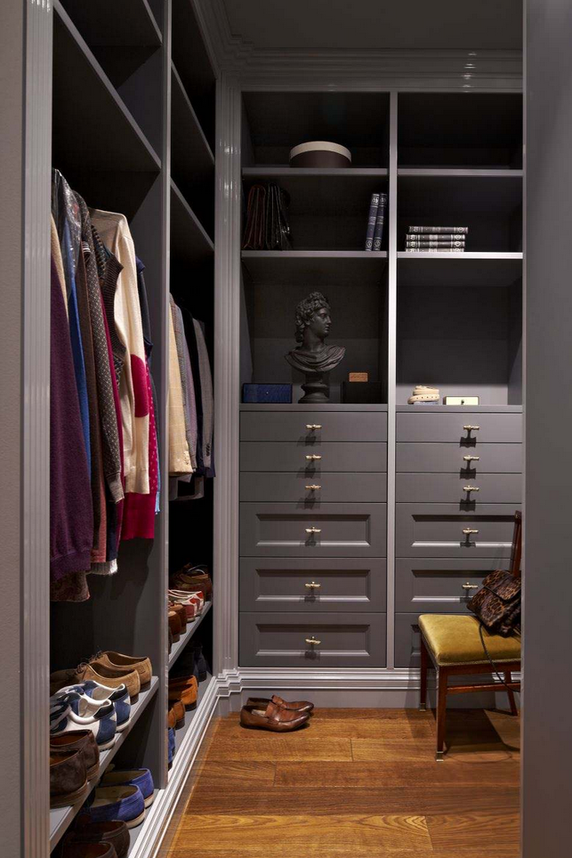 варианты гардеробных при входе фото